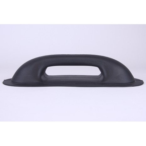 Small Rubber Oval handle Black HEN002052