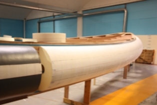 16 metre Foam/Air tube for No Limit Ships of Holland