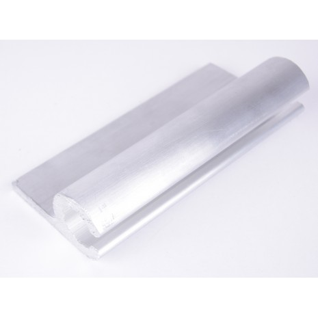 12mm Aluminium extrusion in 5 metre lengths HEN002062